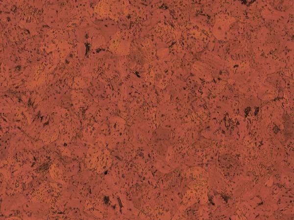 TRECOR® Korkboden mit Klicksystem EVORA Korkfertigparkett - 10,5 mm Stark - Farbe: Korallenrot