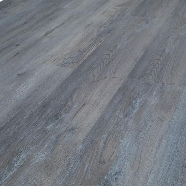 TRECOR® Klick Vinylboden RIGID 5.0+, Exclusiv Eiche Dunkelgrau Landhausdiele XL-Diele