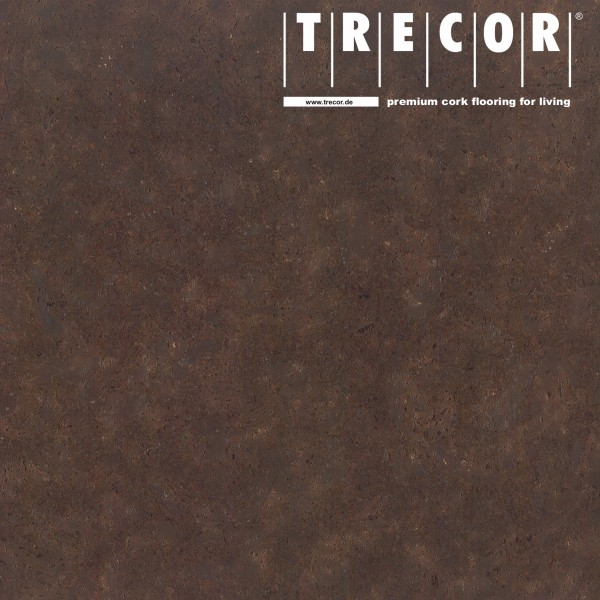 "TRECOR® Korkboden mit Klicksystem ""Lisboa"" 10 mm Stark - Farbe: Dunkelbraun"