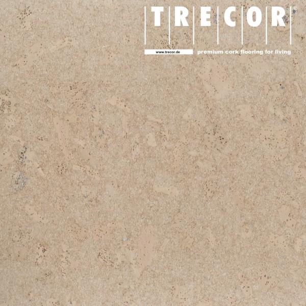 TRECOR® Korkboden mit Klicksystem MAFRA Korkfertigparkett - 10 mm Stark - Farbe: Perlweiß