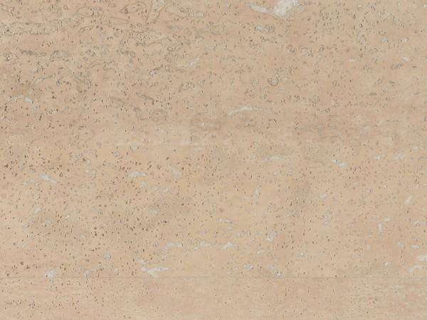Korkboden TRECOR® CLASSIC Klebekork MERIDA Stärke: 4 mm, Oberfläche: ROH - Farbe: Perlweiß
