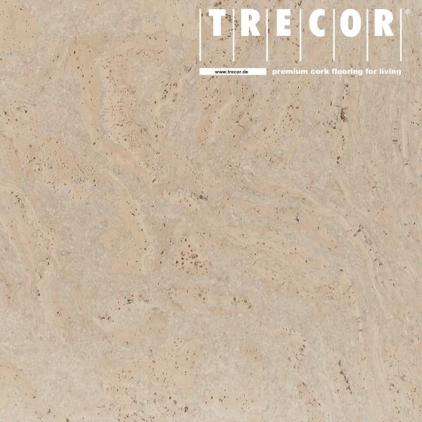 """TRECOR® Korkboden mit Klicksystem """"STILO"""" Korkfertigparkett - 10 mm Stark - Farbe: Perlweiß"""