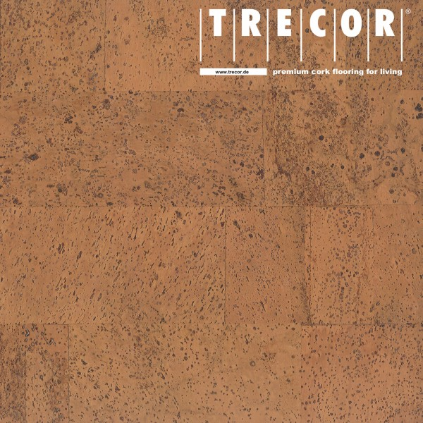 "TRECOR® Korkboden mit Klicksystem ""MERIDA"" - 10 mm Stark - Farbe: Orange"
