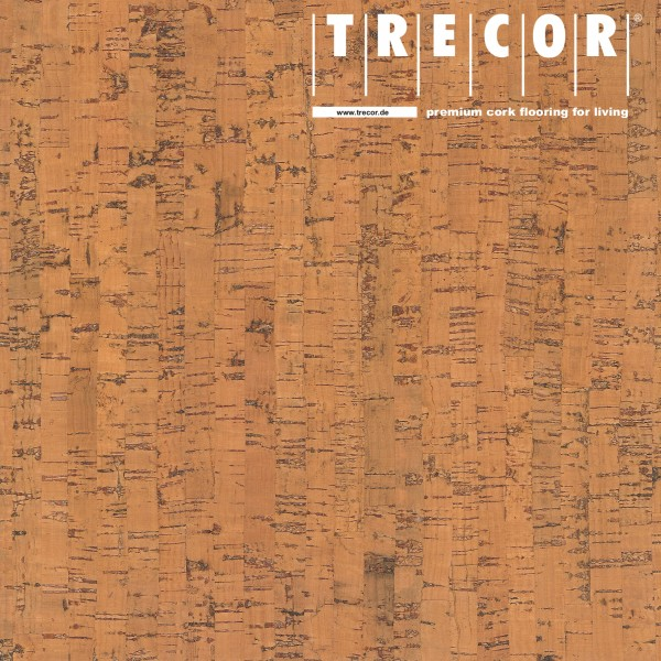 "TRECOR® Korkboden mit Klicksystem ""MAZARA"" Korkfertigparkett - 10,5 mm Stark - Farbe: Orange"