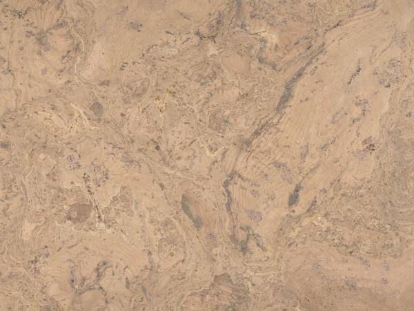 Korkboden TRECOR® CLASSIC Klebekork FRAMENTO Stärke: 4 mm, Oberfläche: ROH - Farbe: Creme