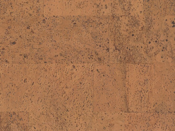 Korkboden TRECOR® CLASSIC Klebekork MERIDA Stärke: 4 mm, Oberfläche: ROH - Farbe: Orange