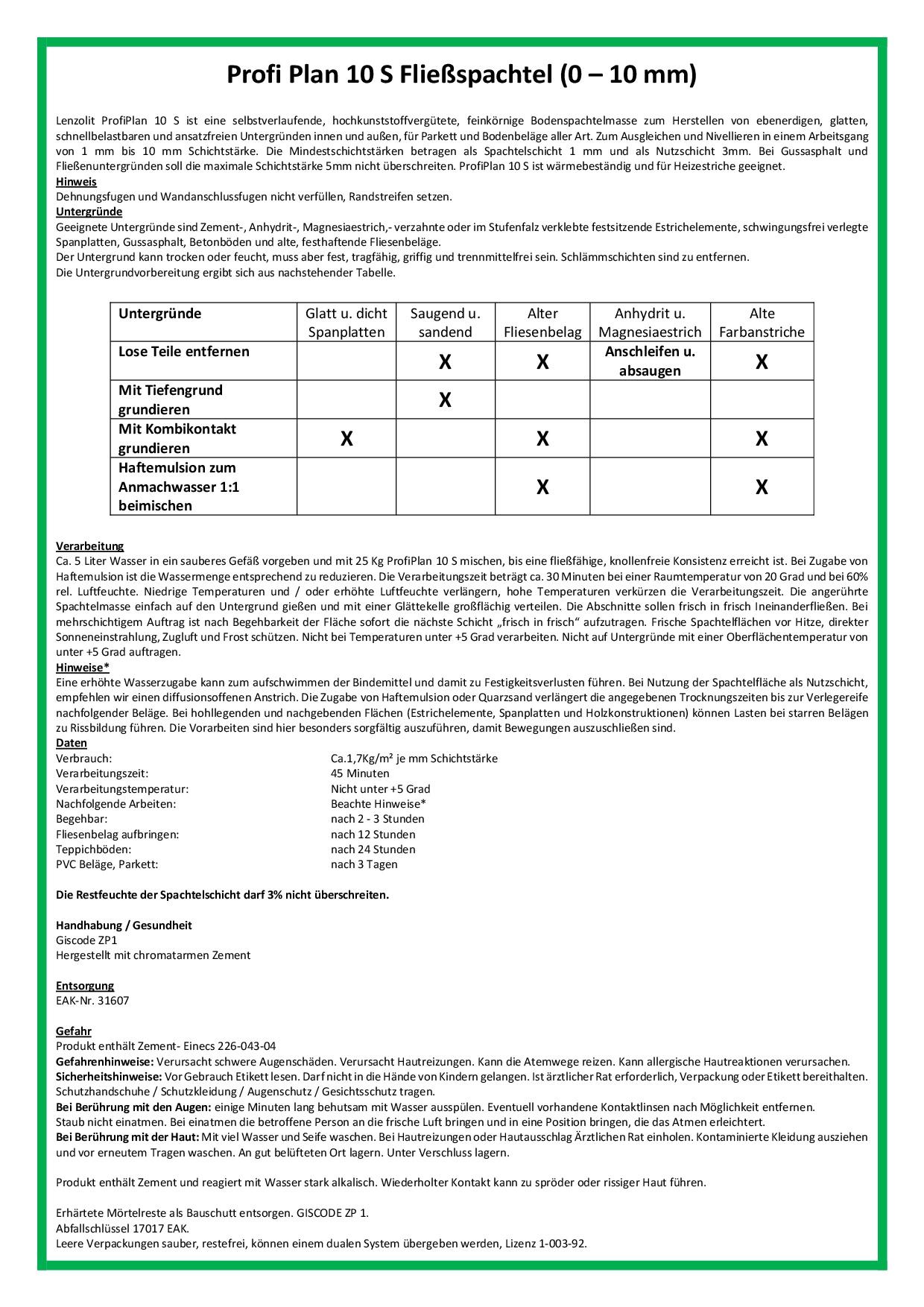 Datenblatt-Profiplan-10-S
