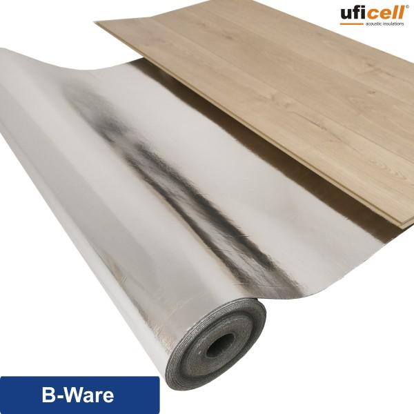uficell® Silence Floor ALU Akustik Trittschalldämmung mit Mineralsandfüllung - Stärke: 3 mm