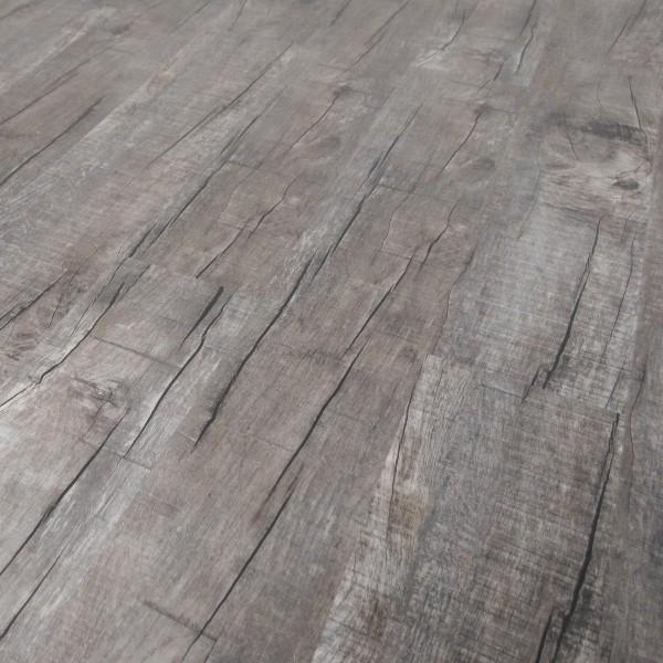 TRECOR Klick Vinylboden RIGID 5.0 massiv - Landhausdiele - Eiche Old Rustik Dark - 5 mm Stark