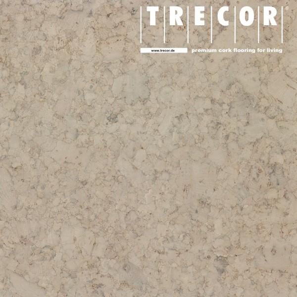 "TRECOR® Korkboden mit Klicksystem ""EVORA"" Korkfertigparkett - 10,5 mm Stark - Farbe: Kieselgrau"