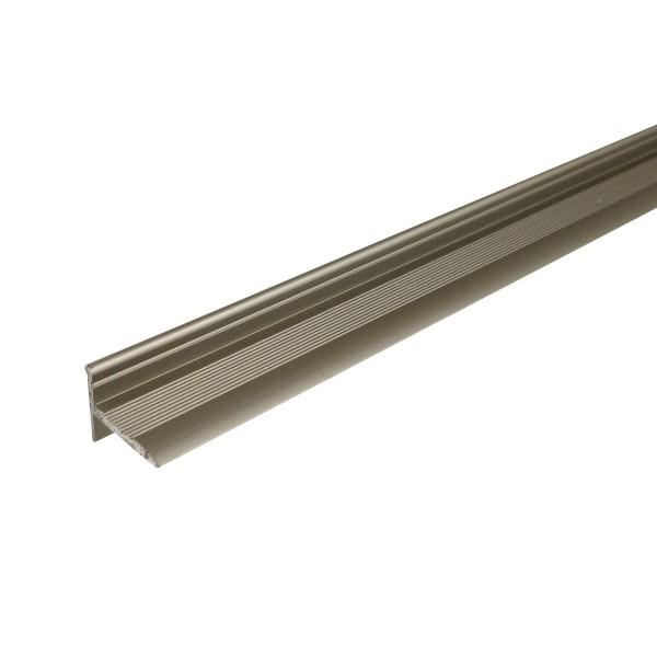 ufitec® Sockelprofil SK für den perfekten Abschluß an Balkon- und Terassentüren, Bronze Hell