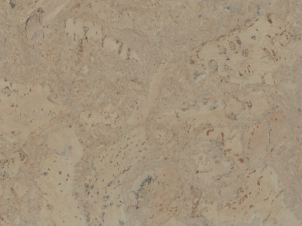 Korkboden TRECOR® CLASSIC Klebekork FRAMENTO Stärke: 4 mm, Oberfläche: ROH - Farbe: Kieselgrau
