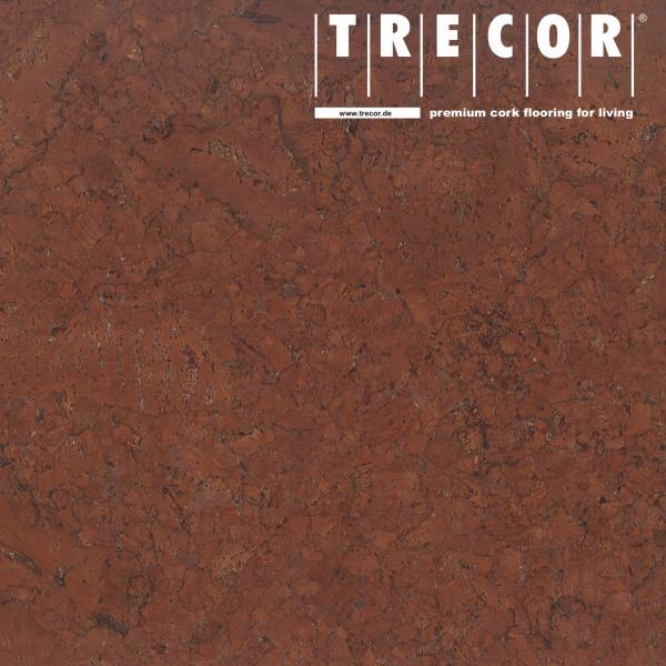 """Korkboden TRECOR® CLASSIC """"Klebekork """"FRAMENTO"""" Stärke: 4 mm, Oberfläche: ROH - Farbe: Mahagonibraun"""