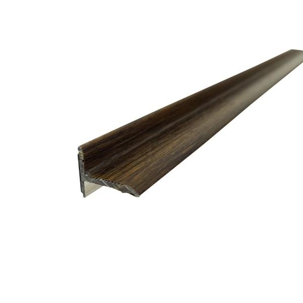 ufitec® Sockelprofil SK, Abschluss an Balkon- und Terassentüren, Dekor: Eiche Rustikal, Länge: 90 cm