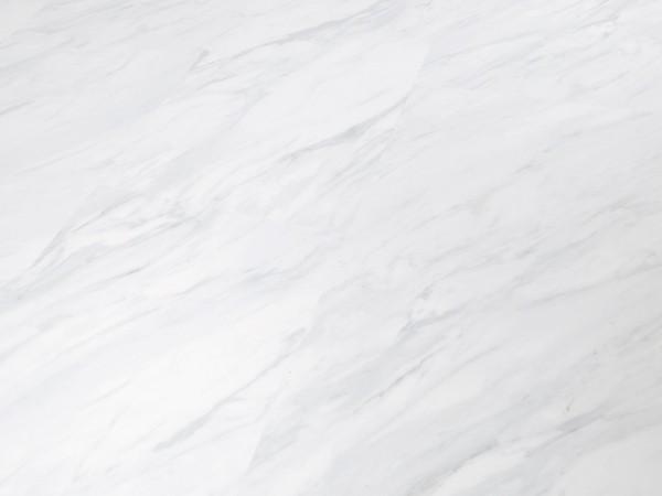 TRECOR® Klick Vinylboden RIGID 4.2 - Fliesendekor Carrara Marmor mit V-Fuge - 4,2 mm Stark