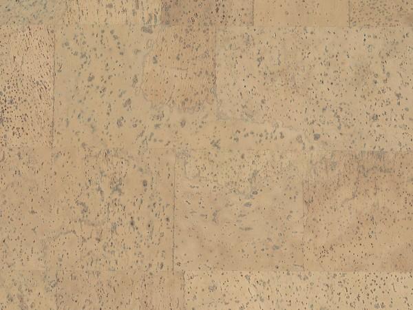 Korkboden TRECOR® CLASSIC Klebekork MERIDA Stärke: 4 mm, Oberfläche: ROH - Farbe: Zitronengelb