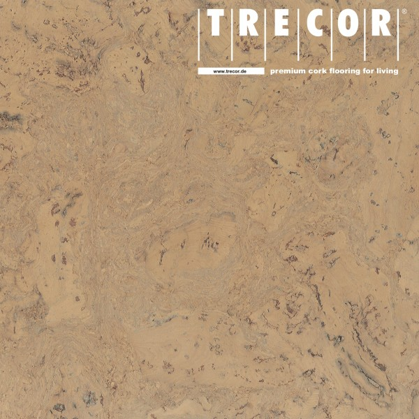 """TRECOR® Korkboden mit Klicksystem """"VARESE"""" Korkfertigparkett - 10,5 mm Stark - Farbe: Elfenbein"""