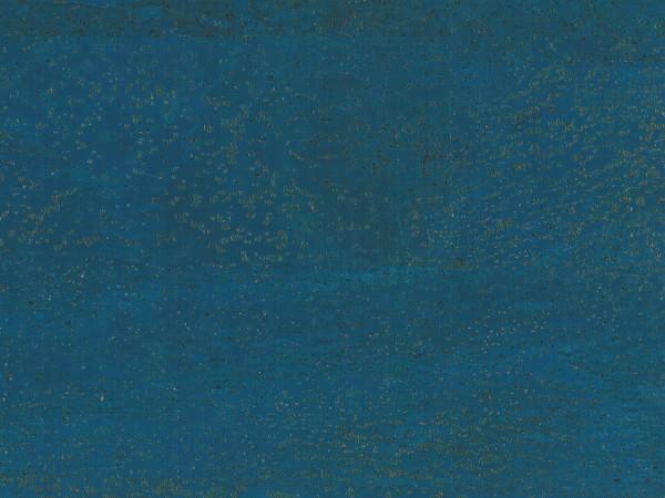TRECOR® Korkboden mit Klicksystem MERIDA - 10 mm Stark - Farbe: Signalblau