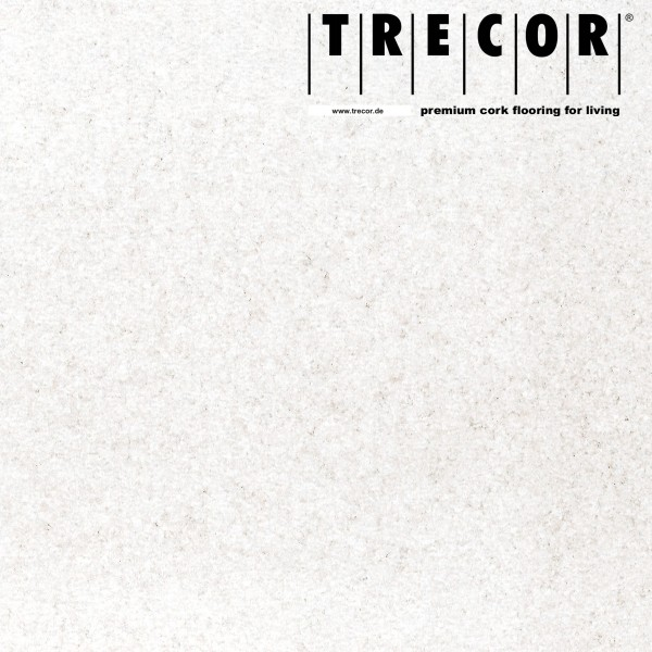 "Korkboden TRECOR® CLASSIC ""Klebekork ""PORTO"" Stärke: 4 mm, Oberfläche: ROH - Farbe: Weiß"
