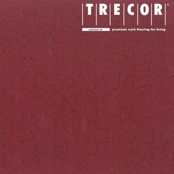 "Korkboden TRECOR® CLASSIC ""Klebekork ""PORTO"" Stärke: 4 mm, Oberfläche: ROH - Farbe: Purpurrot"